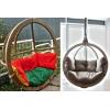 Уникальные и комфортабельные подвесные кресла для двоих в компании «Lounge Wood»