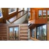 Качественные деревянные окна со стеклопакетом,  как замена ПВХ
