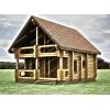 Высокопрофессиональное возведение домов из профилированного бруса от фирмы «DomDomino»
